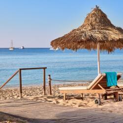 Grecian Bay Hotel Beach